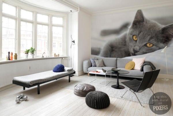 Pareti decorate per negozi idee consigli da mettere in for Idee decorazioni pareti