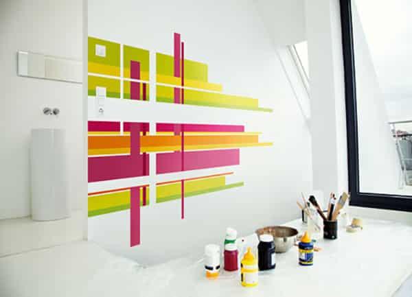Come dipingere un negozio per attirare il tuo cliente ideale for Pareti colorate particolari