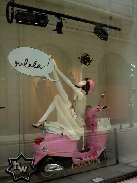 Allestimento per vetrine Giro d'Italia