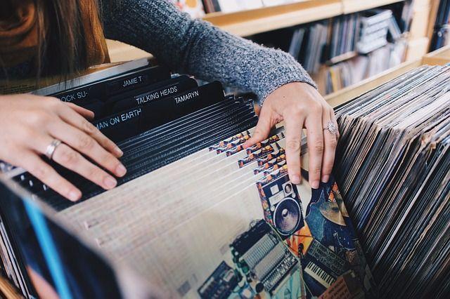 musica in negozio