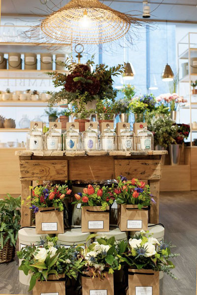 come arredare un negozio di fiori o piante? » cliento school - Idee Arredamento Negozio Fiori