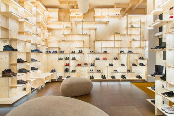 idee arredamento negozio di scarpe-Camper Milano » Cliento School