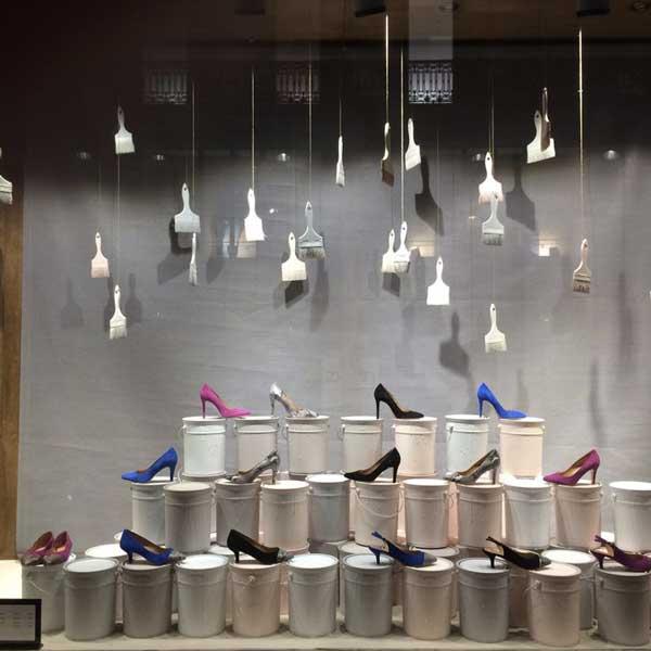 Eccezionale Allestimento vetrine di scarpe: Come farle? » Cliento School FN75