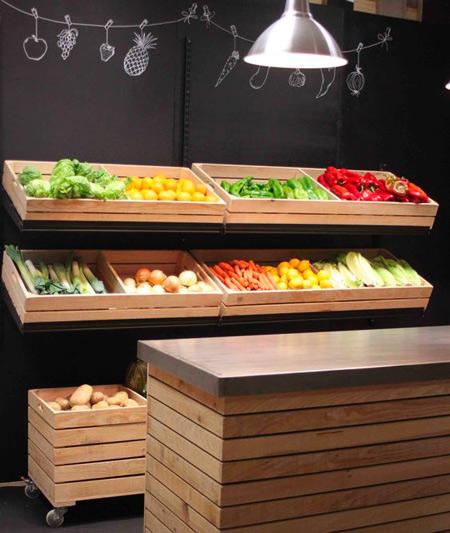 spesso Idee per arredare un negozio di frutta e verdura » Cliento School SH79