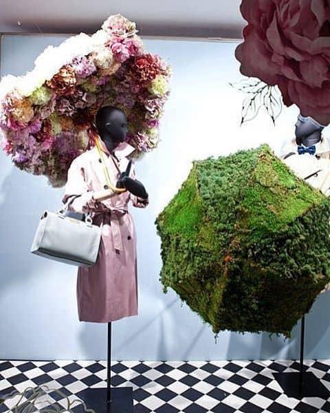 Come allestire una vetrina di fiori