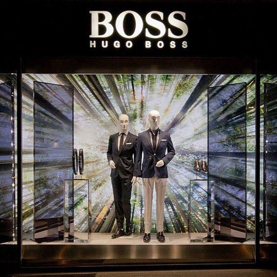 Hugo Boss vetrina uomo