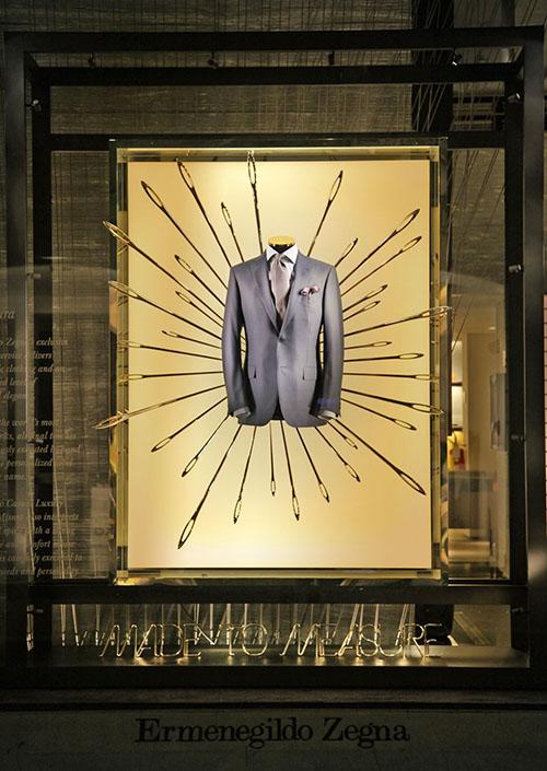 Ermenegildo Zegna foto giacca in vetrina