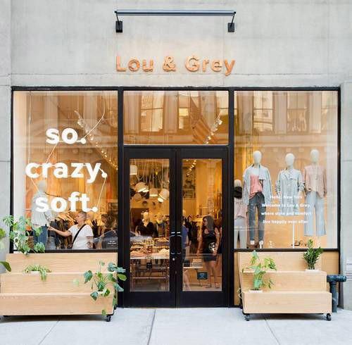 vetrina Lou & Grey