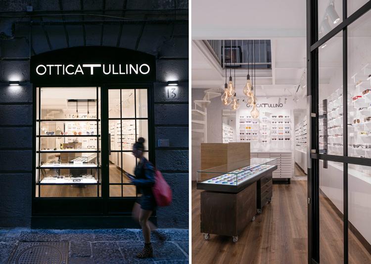 ottica Tullino a Napoli nuovo arredamento