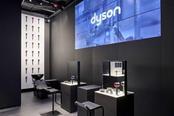 spazio prova prodotti capelli Dyson