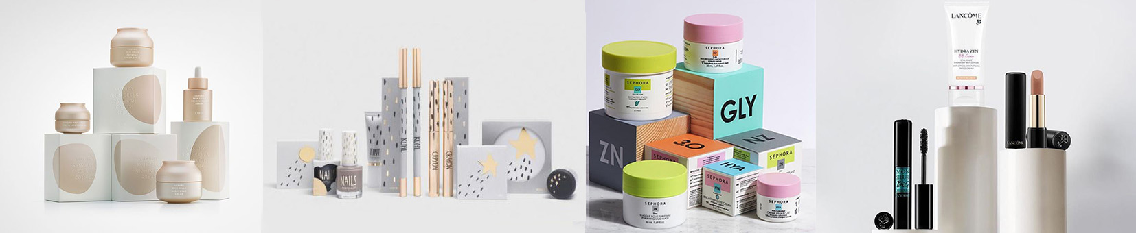 esempi di esposizione prodotti in profumeria