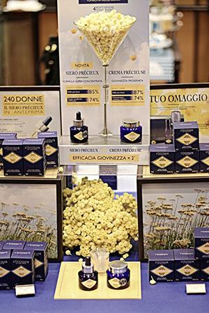 prodotti esposti L'Occitane