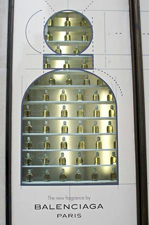 foto di vetrina Balenciaga