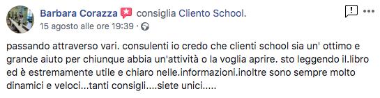 cliento school opinioni