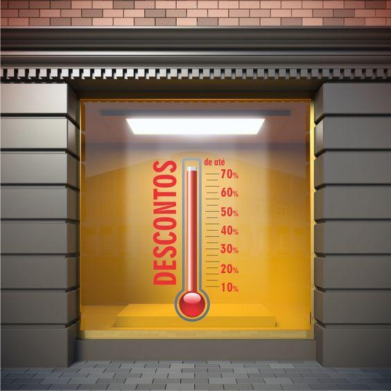termometro da usare in vetrina