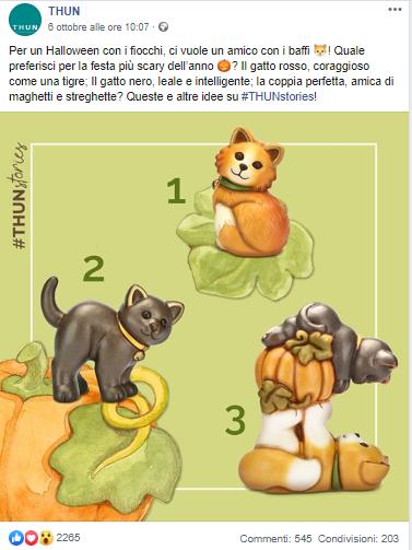 social scegli gatto preferito