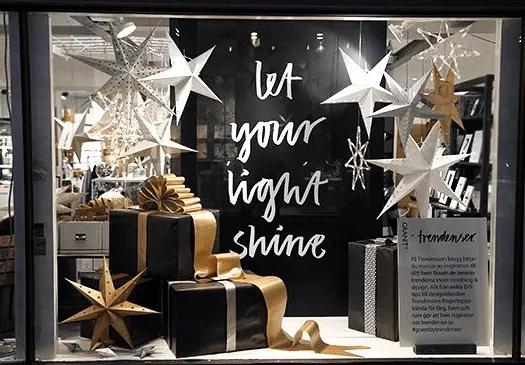 esempio messaggio in bottiglia per le Frasi per vetrine natalizie