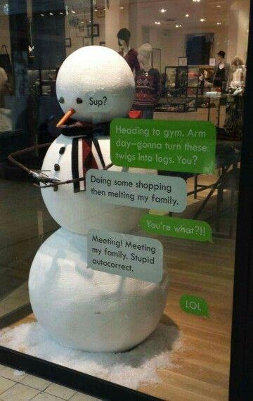 idee scritte creative per le vetrine natalizie