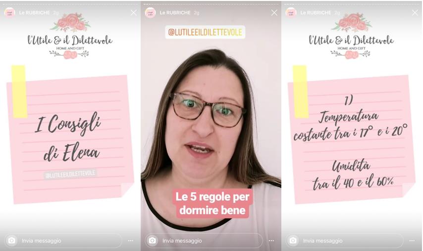 Come usare storie di Instagram per rubrica