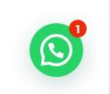 esempio di bollino Chat di WhatsApp