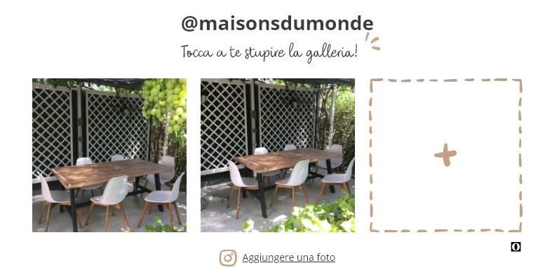 Foto dell'utente di prodotto Maison Du Monde
